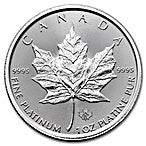 Canadian Platinum Maple Leaf 2016 - 1 oz  thumbnail