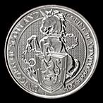 United Kingdom Platinum Queen's Beast 2019 - Unicorn - 1 oz  thumbnail