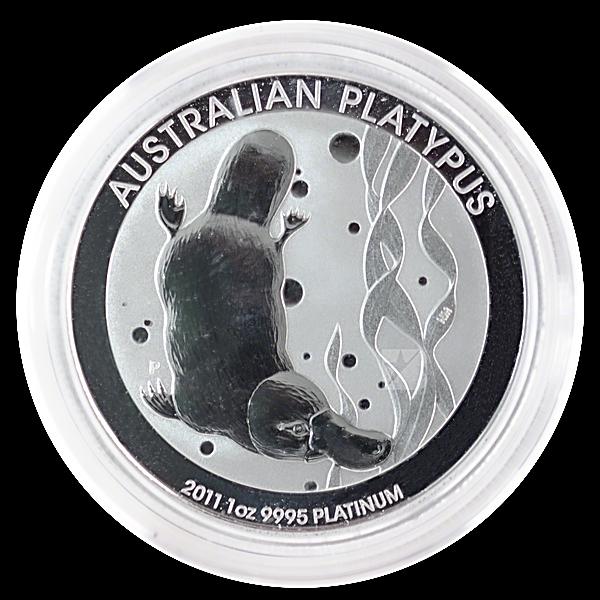 Australian Platinum Platypus 2011 - 1 oz