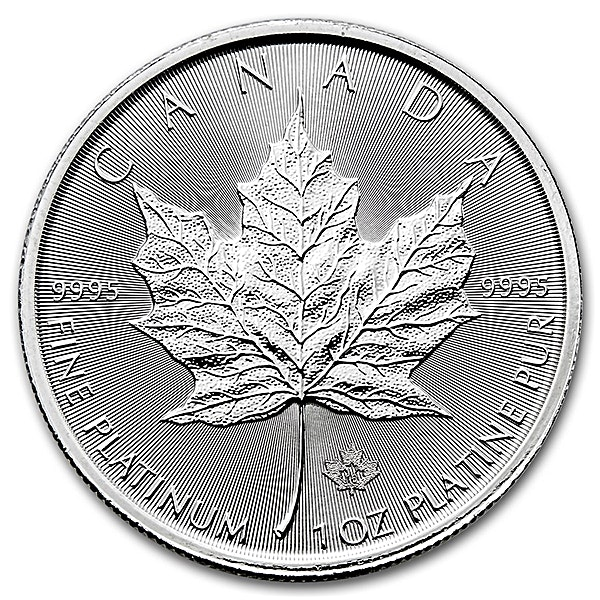 Canadian Platinum Maple Leaf 2017 - 1 oz