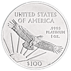 American Platinum Eagle 2018 - 1 oz  thumbnail
