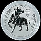 Australian Platinum Lunar Series 2021 - Year of the Ox - 1 oz thumbnail