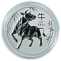 Australian Platinum Lunar Series 2021 - Year of the Ox - 1 oz