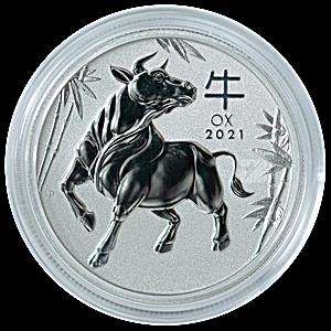 Australian Platinum Lunar Series 2021 - Year of the Ox - 1 oz