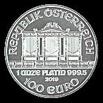 Austrian Platinum Philharmonic 2019 - 1 oz thumbnail