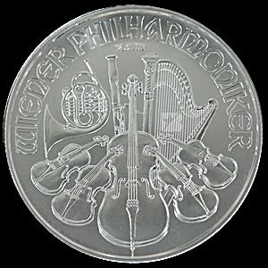 Austrian Platinum Philharmonic 2021 - 1 oz
