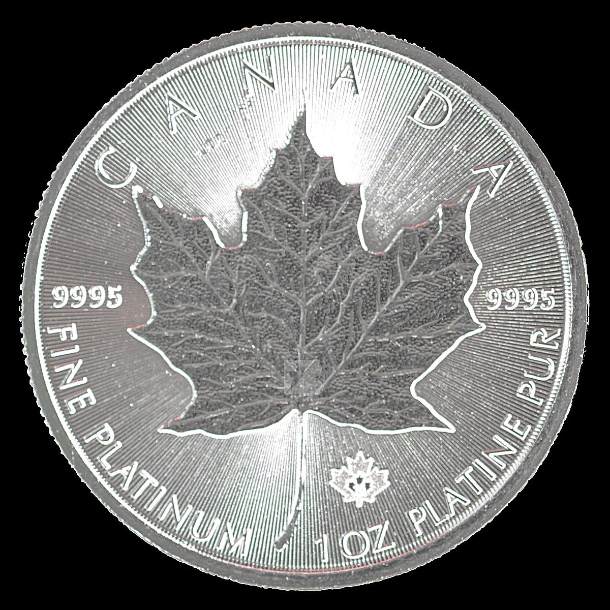 Canadian Platinum Maple Leaf 2015
