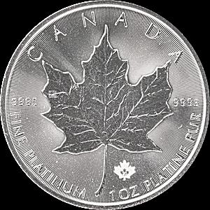 Canadian Platinum Maple Leaf 2020 - 1 oz