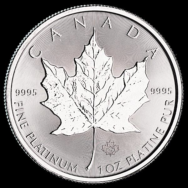 Canadian Platinum Maple Leaf 2018 - 1 oz