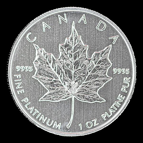 Canadian Platinum Maple Leaf 2013 - 1 oz