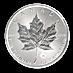 Canadian Platinum Maple Leaf 2017 - 1 oz  thumbnail