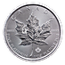 Canadian Platinum Maple Leaf 2018 - 1 oz  thumbnail