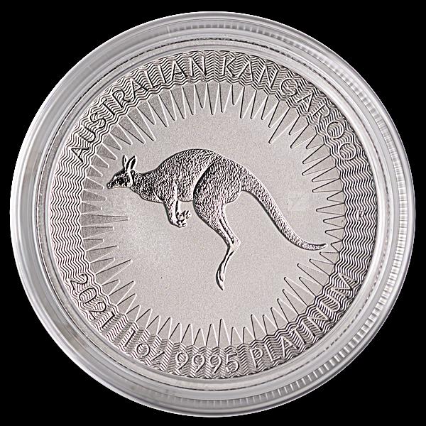 Australian Platinum Kangaroo 2021 - 1 oz