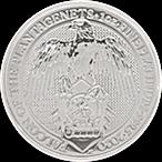 United Kingdom Platinum Queen's Beast 2020 - Falcon - 1 oz  thumbnail