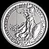 United Kingdom Platinum Britannia 2018 - 1 oz