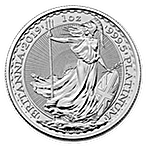 United Kingdom Platinum Britannia 2019 - 1 oz  thumbnail