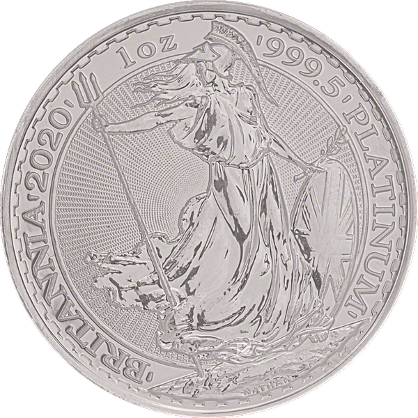 United Kingdom Platinum Britannia 2020 - 1 oz