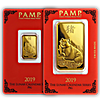PAMP Lunar Series Gold Bars