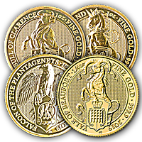 Gold Queen's Beast Series