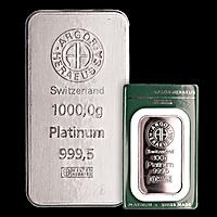 Argor-Heraeus Platinum Bars