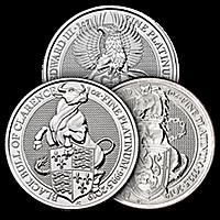 United Kingdom Platinum Queen's Beast Series