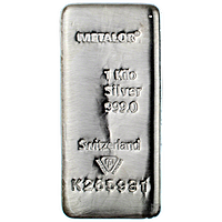 Metalor Silver Bars