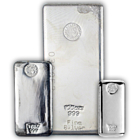 Perth Mint Silver Bars