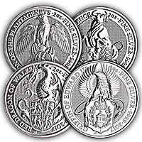 Queen's Beast Silver Series