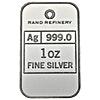 Silver Bar Rand Refinery - Loxondonta - 1 oz