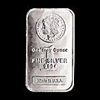 Morgan Silver Bar - Circulated in good condition - 1 oz thumbnail