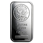 Sunshine Minting Inc Silver Bullion Bar - 10 oz  thumbnail
