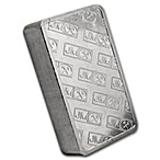 Johnson Matthey Silver Bar - Pressed - Serial Numbered Bar/Box - 100 oz thumbnail