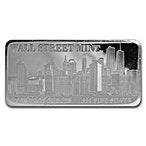 Wall Street Mint Silver Bar - 10 oz thumbnail