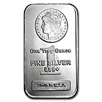Morgan Silver Bars