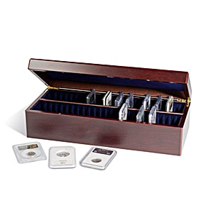Coin Case for 50 Certified Coin Slabs