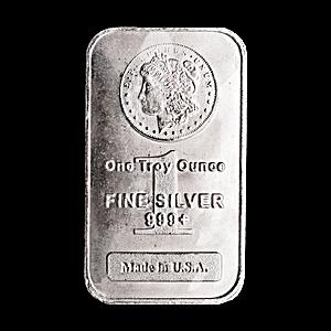 Morgan Silver Bar - Circulated in good condition - 1 oz