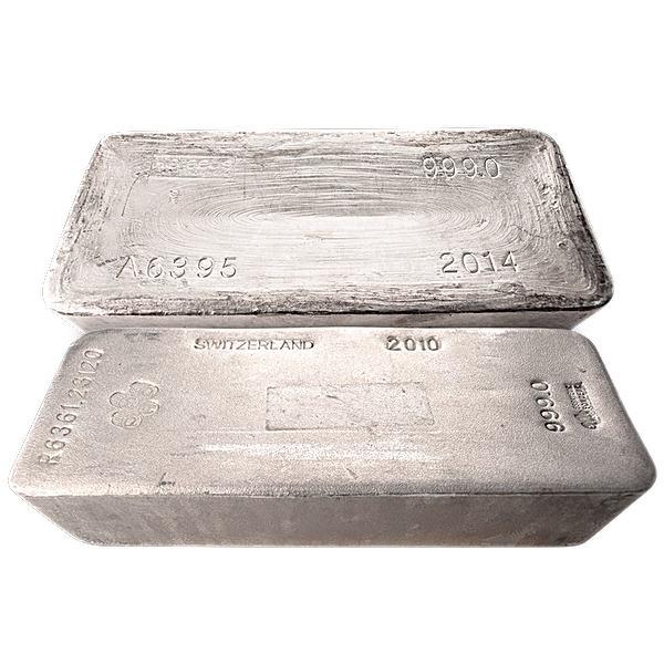 Silver Bar - LBMA Good Delivery - 983.619 oz