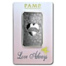 PAMP Silver Bar - Love Always - Circulated in good condition - 1 oz
