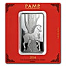 PAMP Silver Bar - Year of the Horse - 100 g