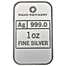Silver Bar Rand Refinery - Loxondonta - 1 oz