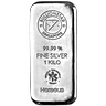 BullionStar Mint - Silver Bars with No Spread - 1 kg