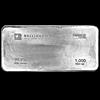 BullionStar Heraeus Silver Bar - 1000 oz