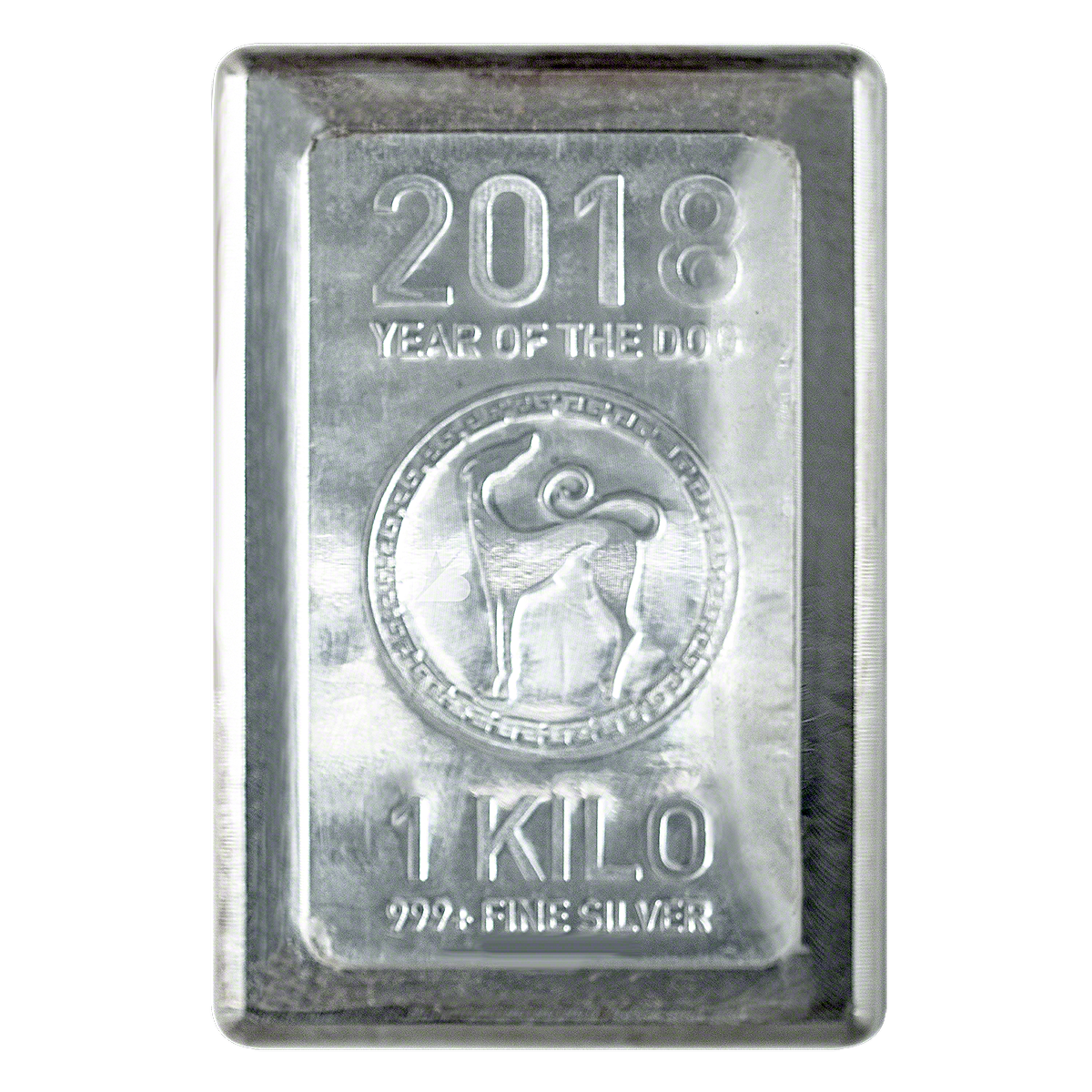 Heraeus Silver Lunar Bar 2018