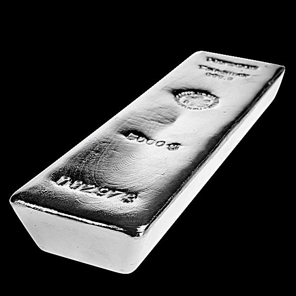 Heraeus Silver Bar - 5 kg