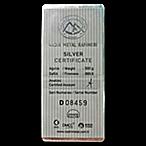 Nadir Refinery Silver Bar - 500 g thumbnail