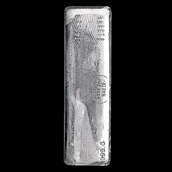 Nadir Refinery Silver Bar - 100 oz