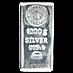 Nadir Refinery Silver Bar - 1 kg thumbnail