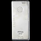 Perth Mint Silver Bar - 100 oz thumbnail
