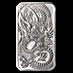 Perth Mint Silver Dragon Bar 2021 - 1 oz thumbnail