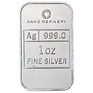 Silver Bar Rand Refinery - Year of the Snake - 1 oz